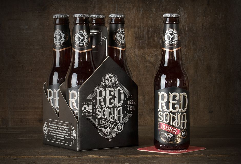 Stannis Beer on Packaging of the World - Creative Package Design Gallery