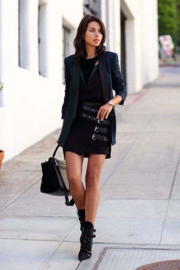 40 stunning all black outfits for women  fashion 2016