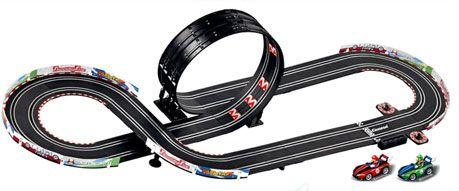 carrera go series mario kart wii 143 slot car set at hobbytroncom