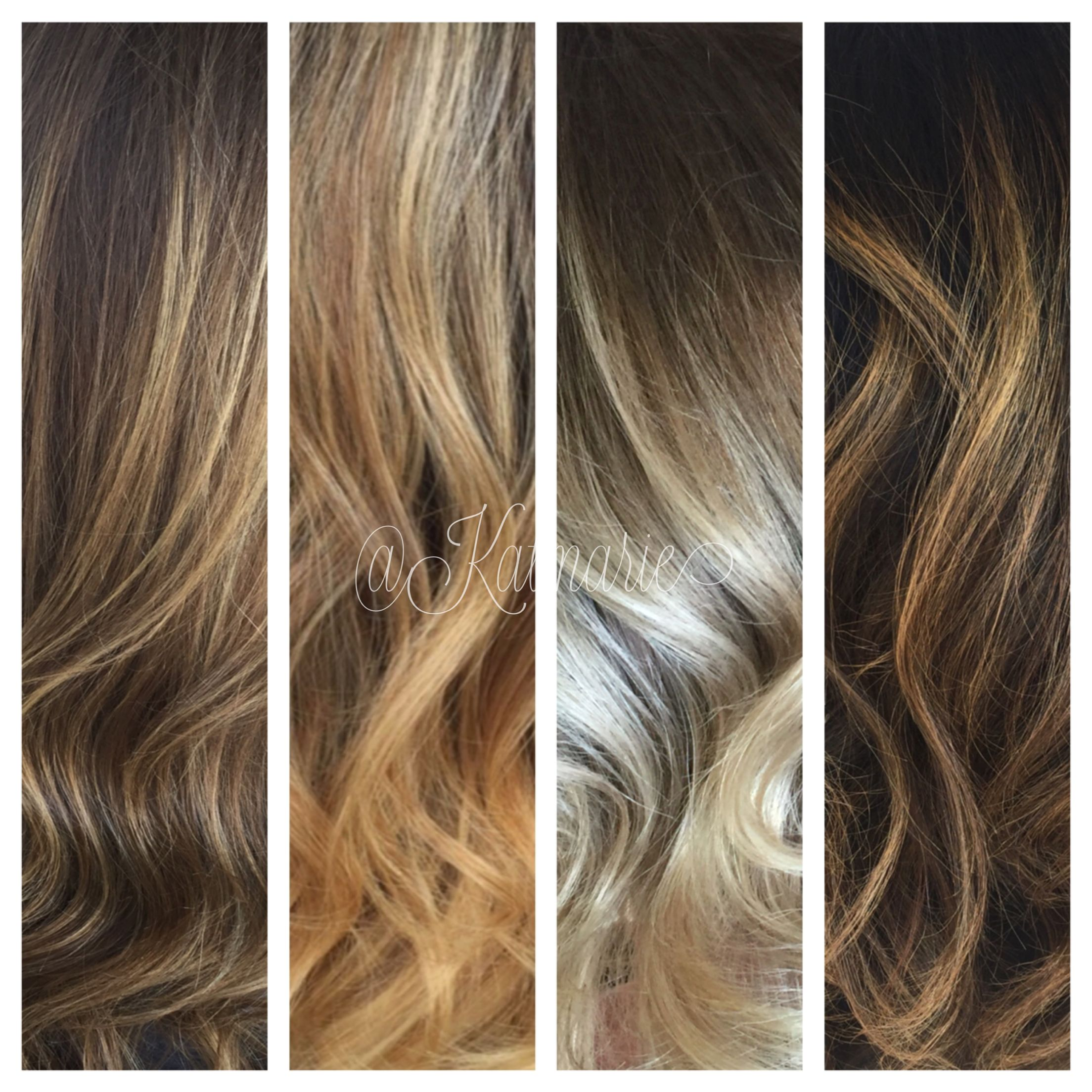 All Different Shades Of Blonde Balayage Katrina Vetere Colorist