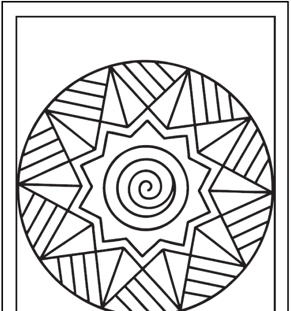 Colouring Sheets For Adults Easy In 2020 Snowflake Coloring