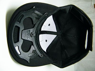 Self Defense Tactical Baseball Hat Cap Black Plastic Enforcer | eBay