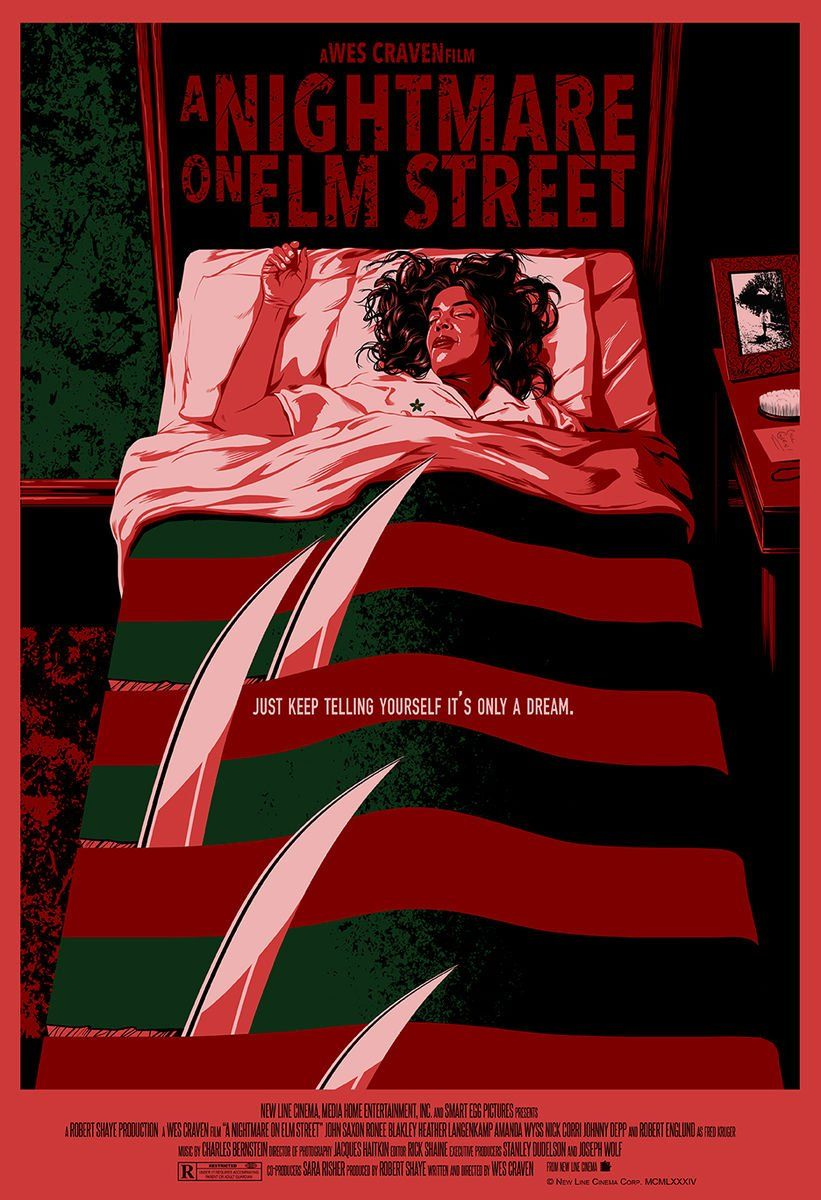Nightmare On Elm Street By Chris Ables Hd Wallpaper From Gallsource Com Horror Movie Art Movie Poster Art Classic Movie Posters
