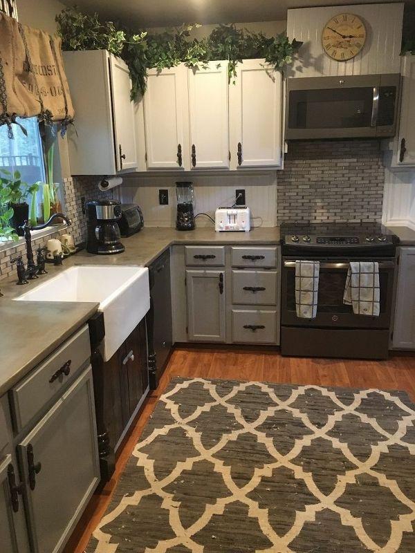A Little Kitchen Remodel Home Improvement Kitchen Design #ad Custom Kitchen Designs On A Budget Decorating Inspiration
