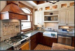 Kitchen Sink Not Under Window Tuscan Kitchen Small Farmhouse Kitchen Farmhouse Kitchen Design