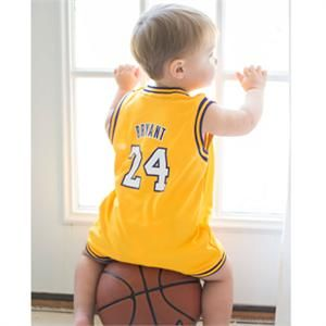 c09fea80817 Lakers Infant Jersey Model  Lakers  Bryant  Jersey  Infant  Toddler ...
