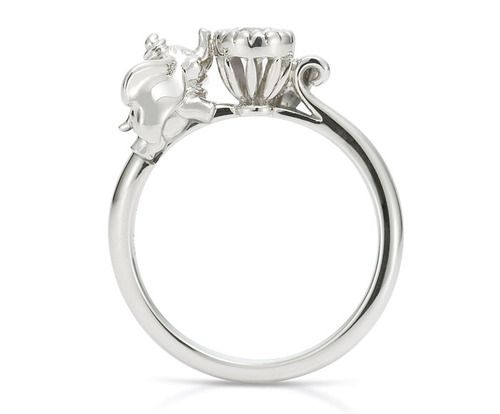 Dumbo Engagement Ring I D Wear It Just Because Disney
