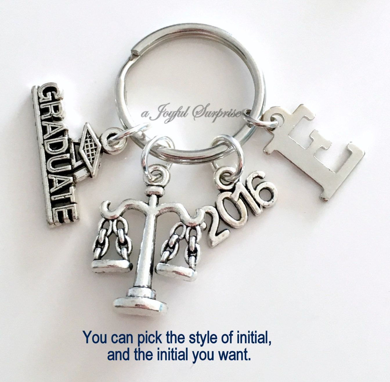 Law Secretary Graduation Present, Justice Scale Keychain, Gift for ...