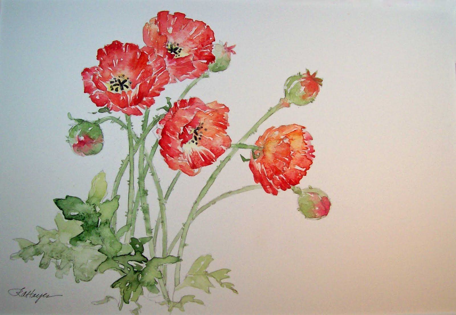 Simple Chinese Watercolor Paintings | Sunday, October 24 ...