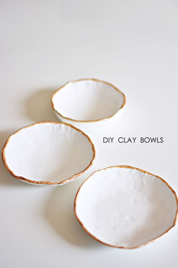 Recently, making air dry clay bowls have been a gr