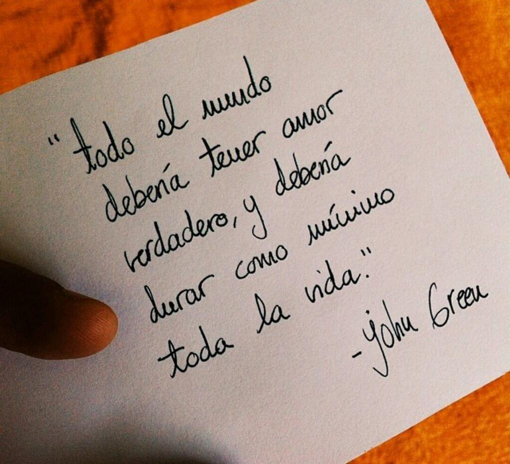 Bajo La Misma Estrella Frases Libros Frases De Amor Puro