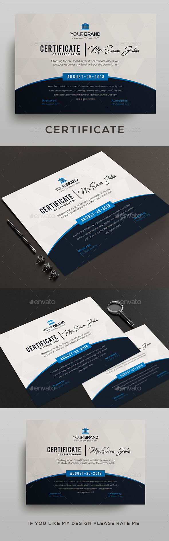 Certificate Certificates Stationery With Images Certificate Design Certificate Templates Certificate