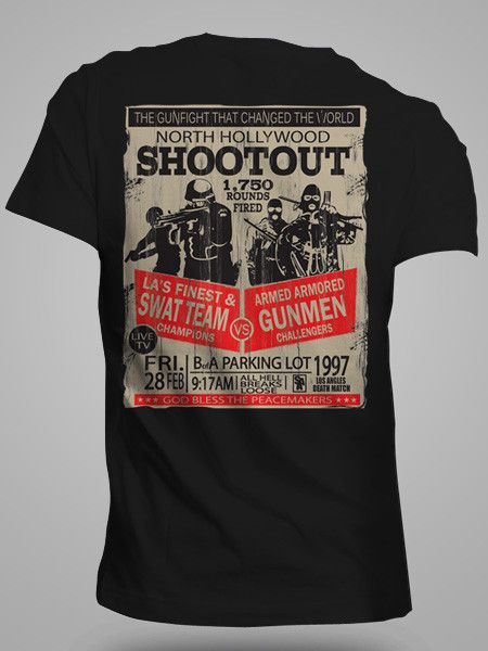 foto de North Hollywood Shootout North hollywood shootout Mens tops Mens tshirts