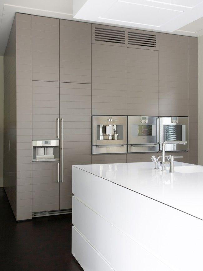 Ongekend Mooie kleur keuken in combi met wit   Taupe keuken, Keuken QB-71