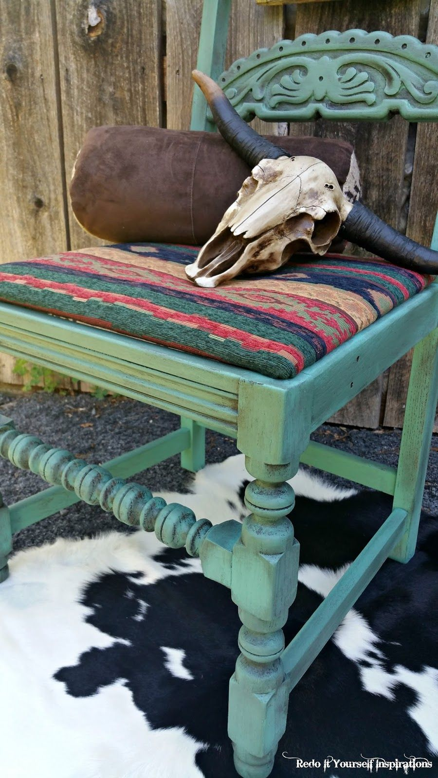 Fabulous Redo It Yourself Inspirations Southwestern Chair Redo Alphanode Cool Chair Designs And Ideas Alphanodeonline