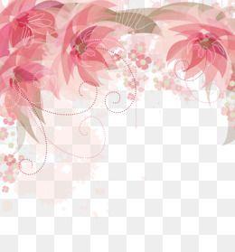 Bordes De Flor Rosa Creativo Marco Flores Png Y Psd Para Descargar Gratis Pngtree Pink Watercolor Flower Free Watercolor Flowers Flower Border Png