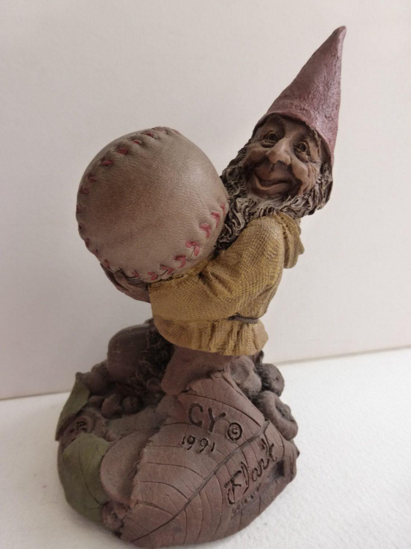 Vintage Baseball Gnome