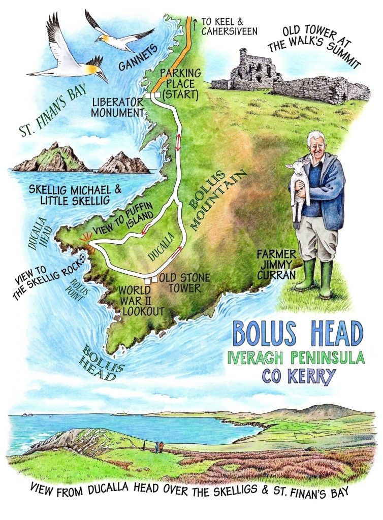 Claire\'s map - Walk of the Week - No. 121 - Bolus Head copy | County ...