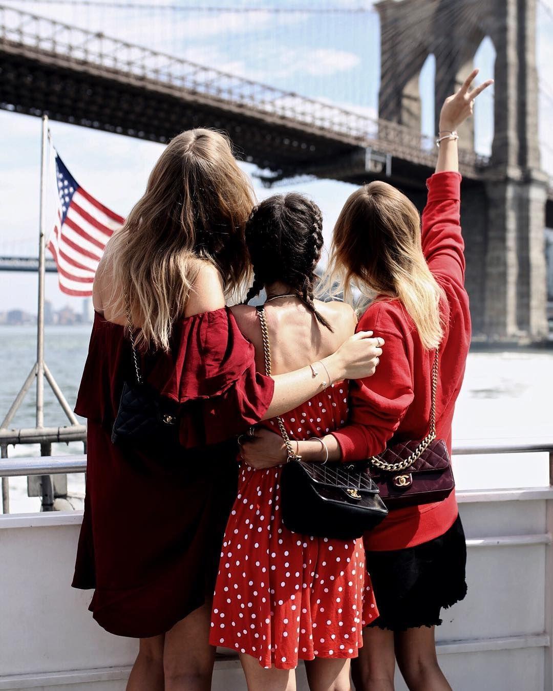 friendship goals // mit freunden vereisen // new york usa