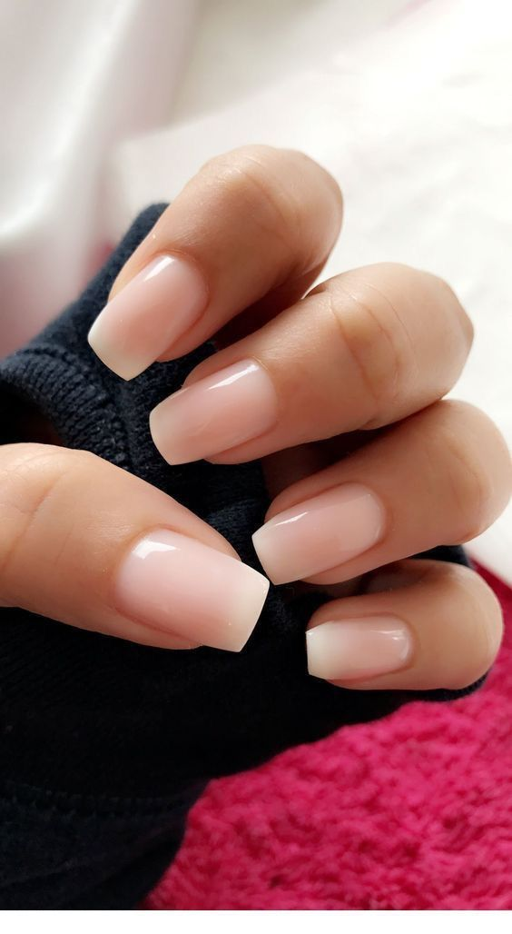 48 Cute And Lively Pink Solid Color Bride Nails Suitable For Any Place Page 41 Of 48 With Images Bride Nails Solid Color Nails Minimalist Nails