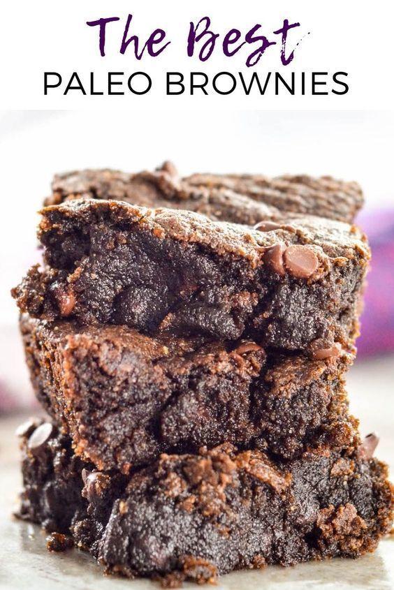 Gooey Fudgy Paleo Brownies -