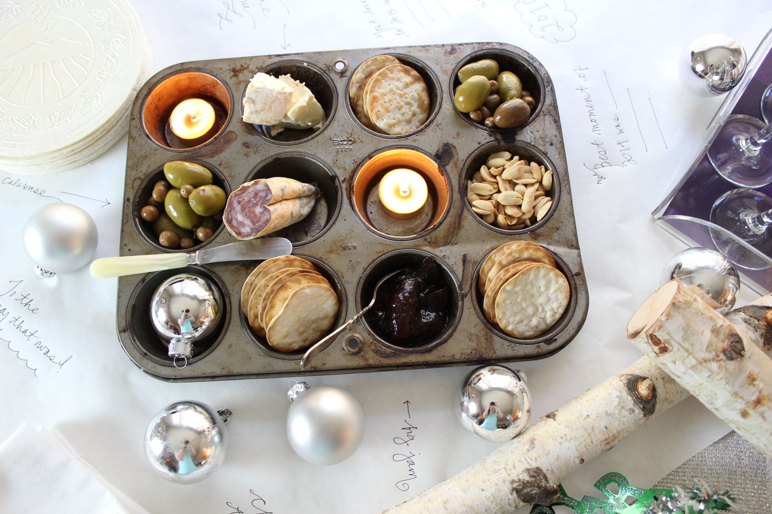 New Years Eve Champagne Party Ideas  Use A Muffin