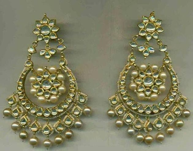 vintage mughal best earrings india jewelry on jewellery bridal diamond manjulajewels pics images indian pinterest designer ethnic jewerly