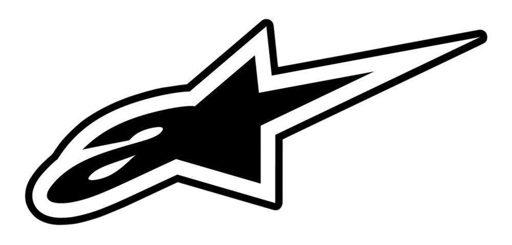 alpinestars logo simple clean clear design easily applicable to a rh pinterest com alpinestar logo patch alpinestars logo patches