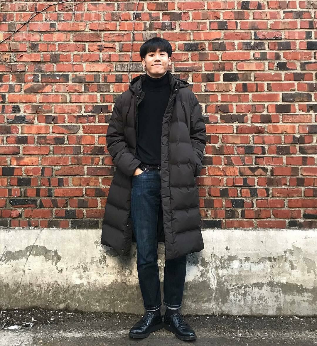 Uniqlo Men Seamless Down Long Coat Water Repellent Hooded Puffer Jacket S M 179 99 Puffer Jacket Outfit Men Winter Outfits Men Long Coat Men [ 1179 x 1080 Pixel ]