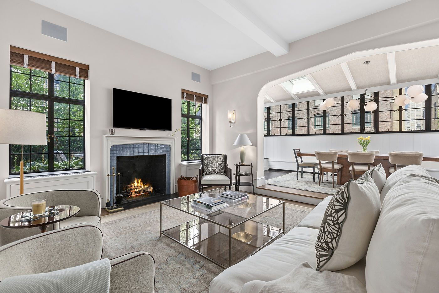 Jon Hamm's Upper West Side Penthouse is Both Stunning and