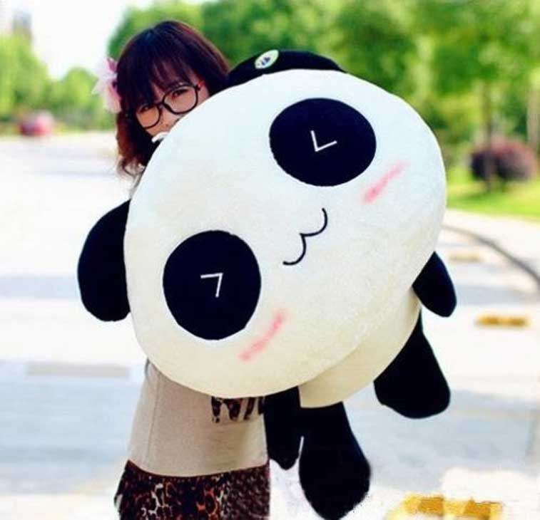 Giant Panda Plush Cute stuffed animals, Animal pillows