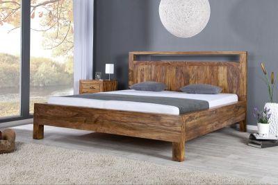 bett bali sheesham 180x200cm das riesige massivholzbett bali aus ... - Dream Massivholzbett Ign Design
