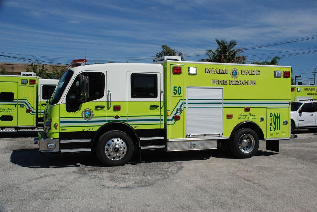 Florida ambulance Rescue vehicles, Ambulance, Emergency