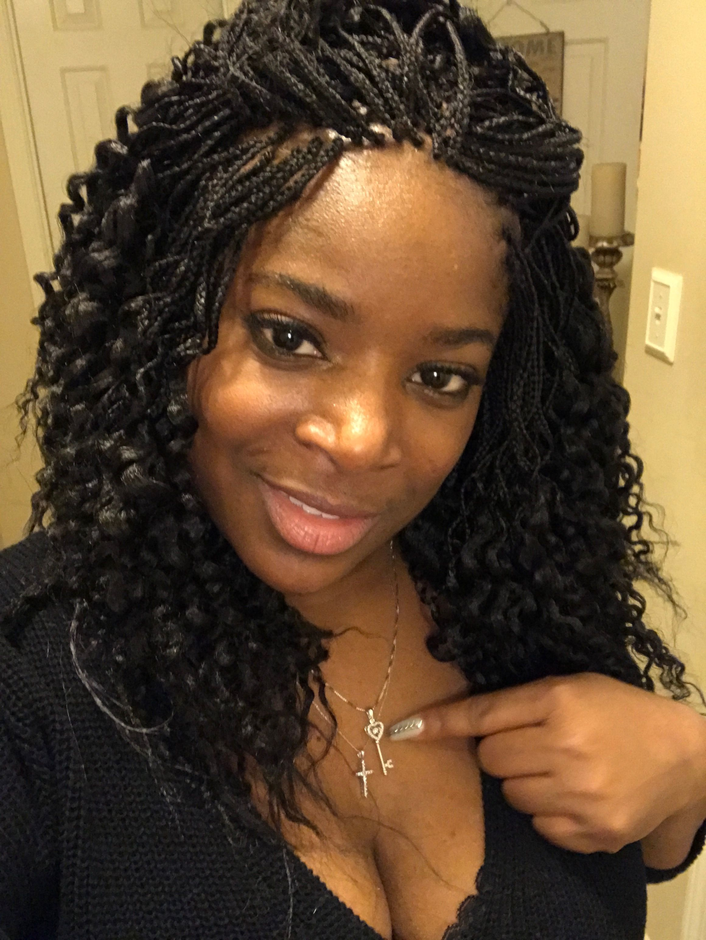 Expression Hair Micros Not By Me Braids For Black Hair Micro Braids Styles Box Braids Hairstyles For Black Women