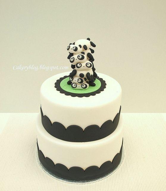 Tarepanda cake #cake #art #food #cute #kawaii #panda #tarepanda