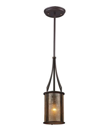 Look what I found on #zulily! Barringer One-Light Mini Pendant #zulilyfinds