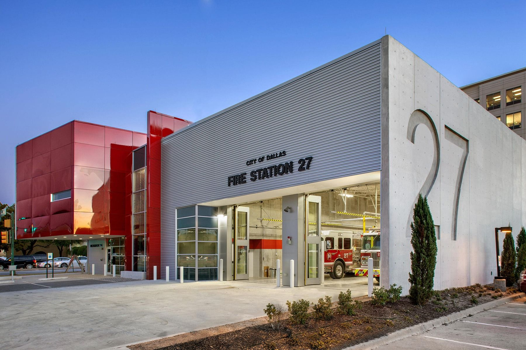 Style Has Substance At Dallas New Fire Stations Fire