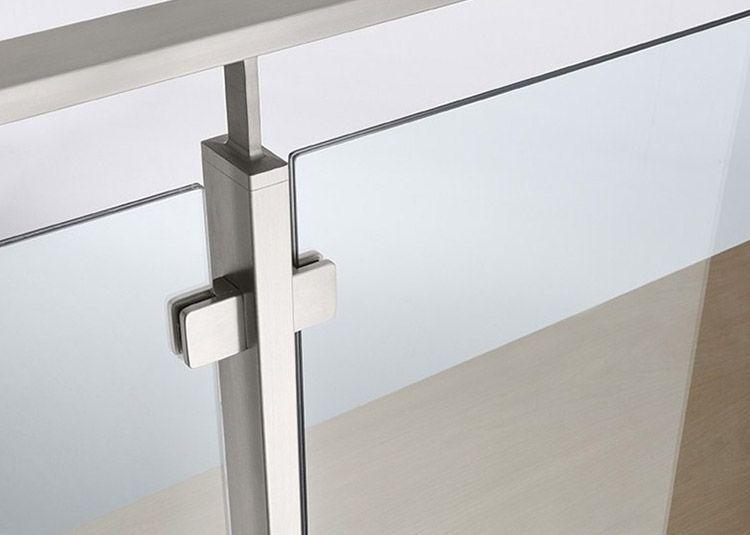 Rectangular Balcony Glass Railing #glass in 2020 | Steel ...