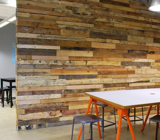 Inject Warmth Into Your Home With Reclaimed Wood Wall: Feature Retail Wall