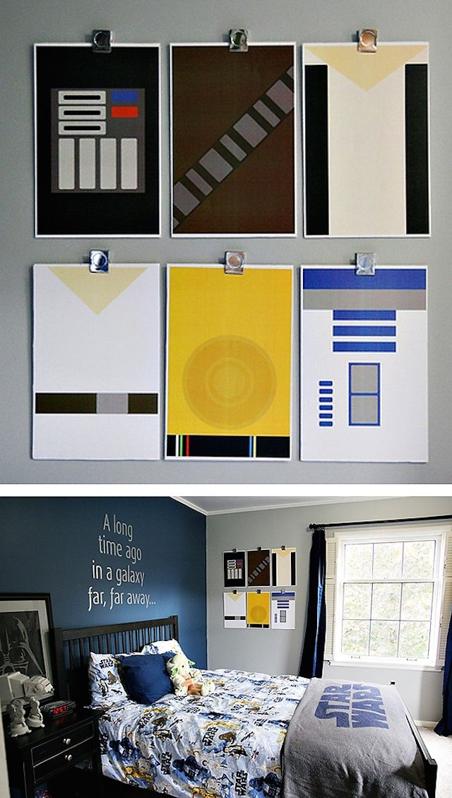 Pin by Kira Davis on Hunters room | Pinterest | Room, Star wars room ...