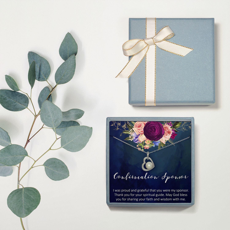Confirmation sponsor gift for women goddaughter gifts
