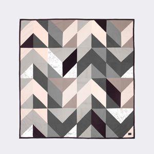 couvre lit ferm living Couvre lit en coton bio motif g om trique Ferm Living | Crafts  couvre lit ferm living