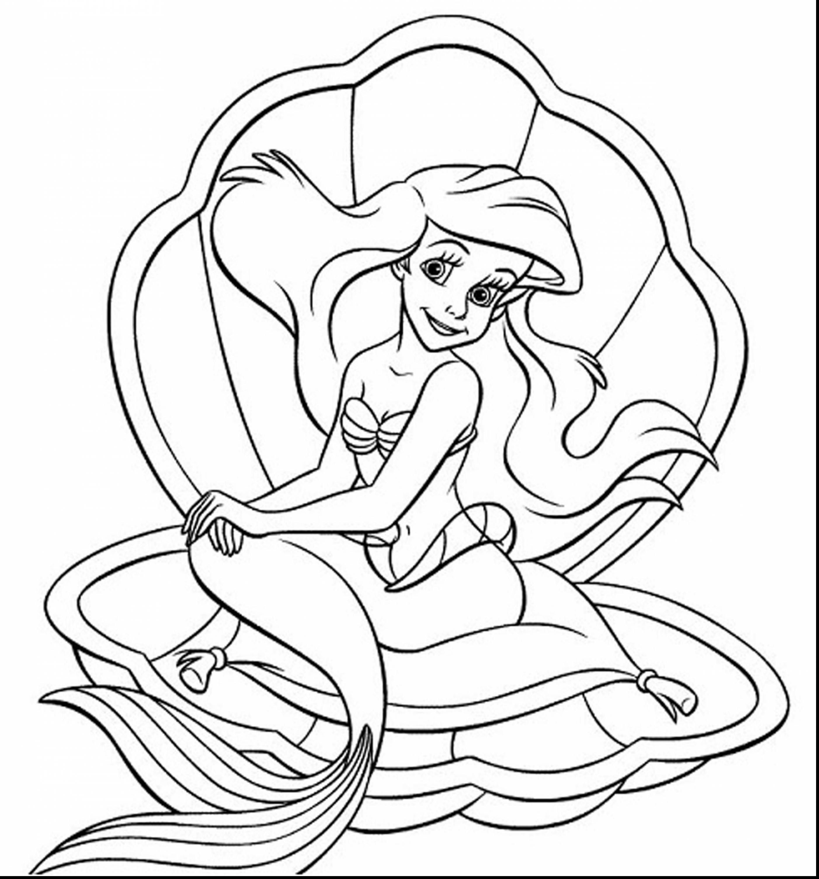 Coloring Pages Of Ariel 62 With Lapes Org And | My photos ...