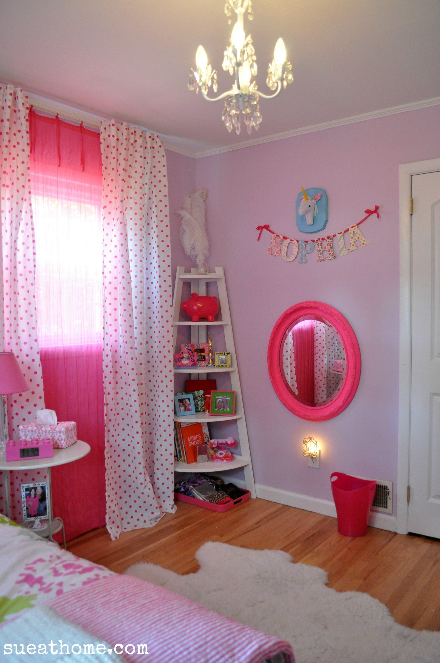 Best Lavender And Pink Girly Girls Room Sueathome Com Room 640 x 480