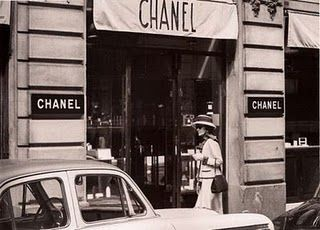 1st Chanel store on Rue Cambon
