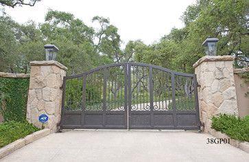 Luxury Iron Gates Custom Luxury Ornamental Wrought Iron Driveway