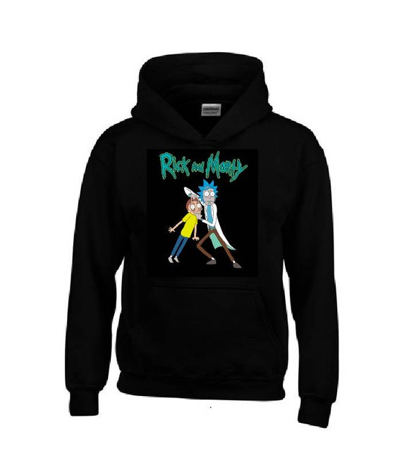 73f8343bedd RICK and MORTY Hoodie in 2019