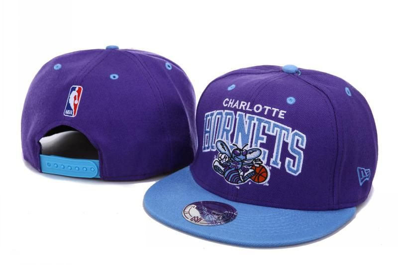 NEW ORLEANS HORNETS NEW ERA SNAPBACK HATS - PURPLE Have high quality and perfect appearance get good reputation of customers.