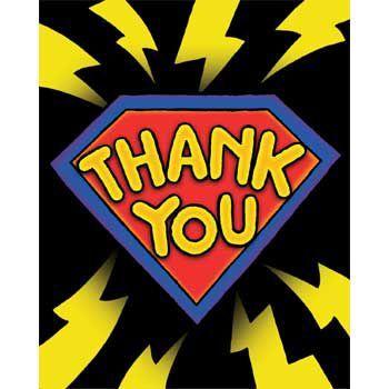 Superhero Thank You