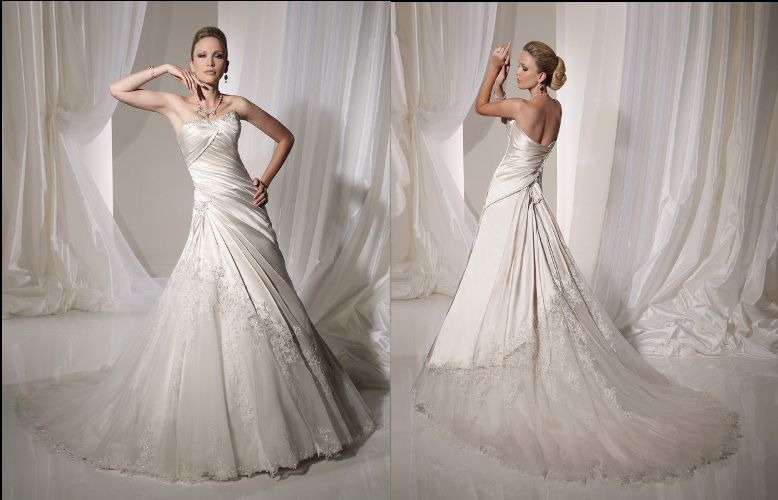 Lizbeth by Sophia Tolli (it was meant to be!)